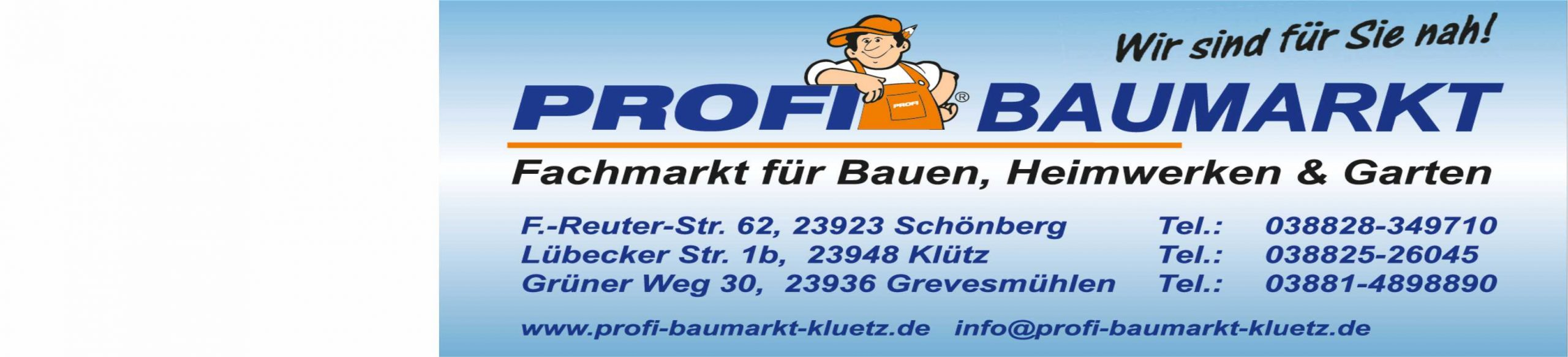 Profi-Baumarkt Klütz